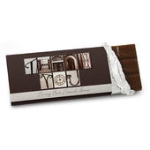 Personalised Affection Art Thank You Milk Chocolate Bar - Personalise It!