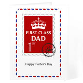 Personalised 1st Class Card Add Any Name - Personalise It!