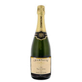 Personalised Any Message Classic Label Champagne - Personalise It!