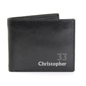 Personalised Birthday Leather Wallet - Personalise It!