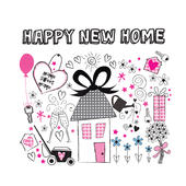 Personalised New Home Card Add Any Name - Personalise It!