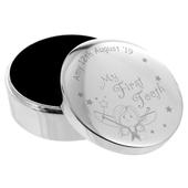 Personalised Fairy My First Tooth Trinket Box - Personalise It!
