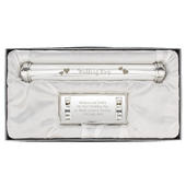 Personalised Wedding Day Silver Plated Certificate Holder - Personalise It!