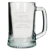 Personalised Merry Christmas Pint - Personalise It!