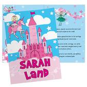 Personalised Princess & Unicorn Story Book - Personalise It!