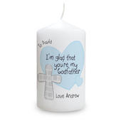 Personalised Godfather Candle - Personalise It!