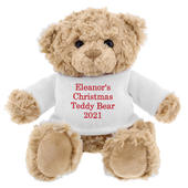 Personalised Christmas Message Teddy Bear - Personalise It!