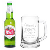 Personalised Happy Father's Day Beer Set - Personalise It!