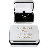 Personalised Box With Heart Necklace - Personalise It!