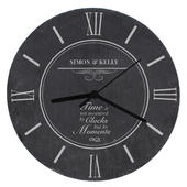 Personalised Moments Slate Clock - Personalise It!