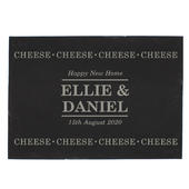 Personalised Cheese Cheese Cheese Slate Cheese Board - Personalise It!