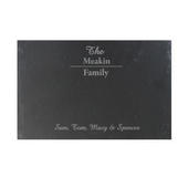 Personalised Family Slate Placemat - Personalise It!
