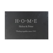 Personalised HOME Slate Rectangle Placemat - Personalise It!