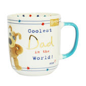 Coolest Dad In The World! Boofle Mug In Gift Box