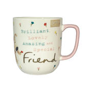 Brilliant Lovely Amazing Special Friend Boofle Mug In Gift Box