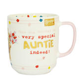 Very Special Auntie Indeed! Boofle Mug In Gift Box