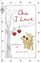 Boofle One I Love Valentine's Day Greeting Card