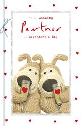 Boofle My Amazing Partner Valentine's Day Greeting Card