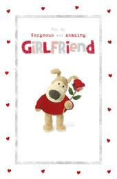 Boofle Amazing Girlfriend Valentine's Day Greeting Card