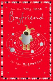 Boofle Very Best Boyfriend Valentine's Day Greeting Card