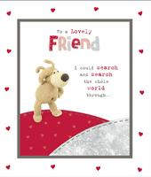 Boofle Lovely Friend Valentine's Day Greeting Card