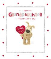 Boofle Special Granddaughter Valentine's Day Greeting Card