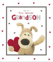 Boofle Special Grandson Valentine's Day Greeting Card