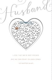 Husband We're Best Friends Valentine's Day Greeting Card