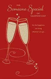 For Someone Special On Valentine's Day Greeting Card
