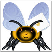 Bumble Bee 3D Special Delivery Animal Greeting Card