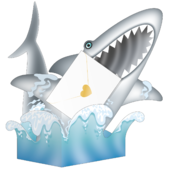Shark Attack 3D Special Delivery Animal Greeting Card