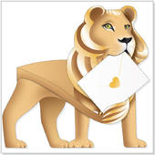 Leo The Lion 3D Special Delivery Animal Greeting Card