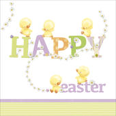 Pack of 6 Marie Curie Charity Easter Greeting Cards In 2 Designs