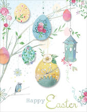 Pack of 6 Oxfam Easter Egg Charity Easter Greeting Cards In Same The Design