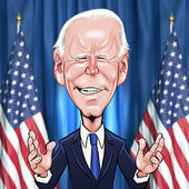Joe Biden Birthday Greeting Sound Card Blank Inside