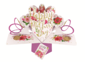 Happy Mother's Day With Love Pop-Up Greeting Card