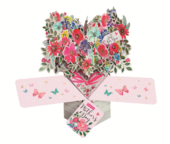 Happy Mother's Day Bouquet Pop-Up Greeting Card
