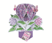 Happy Mother's Day Flowers Pop-Up Greeting Card