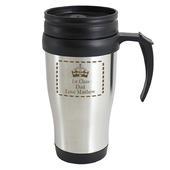 Personalised Crown Travel Mug - Personalise It!