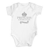 Personalised Royal Crown Baby Vest - Personalise It!