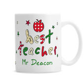 Personalised Teacher Mug - Personalise It!