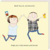 Rosie Made A Thing Have Fun At University Card