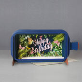 Message In A Bottle Birthday Flowers Pop Up Birthday Greeting Card