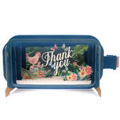 Message In A Bottle Tweet Thank You Pop Up Greeting Card