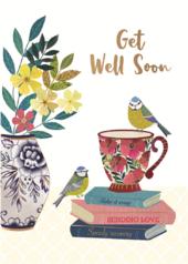 Sending Love Get Well Greeting Card