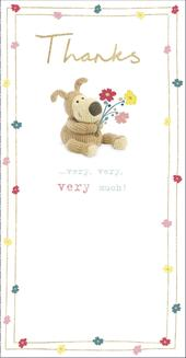 Boofle Thanks Very, Very Much Greeting Card