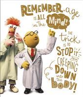 Disney Muppets Dr Honeydew & Beaker Birthday Greeting Card