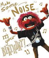 Disney Muppets Animal It's Your Birthday Greeting Card