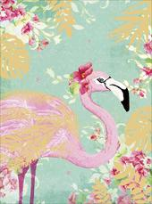 Pack Of 10 Flamingo Blank Greeting Cards Notelets
