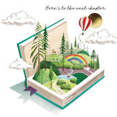 NHS Charities Together The Next Chapter Good Luck Greeting Card